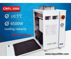 Industrial water cooling chiller for fiber laser welding machine