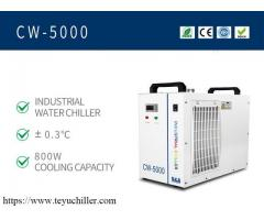 Small water chiller CW5000 for CO2 laser engraver cutter